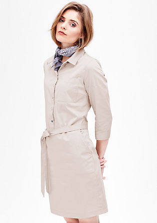 Stretch shirt dress from s.Oliver