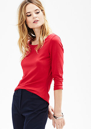 Stretch-Shirt mit 3/4-Arm