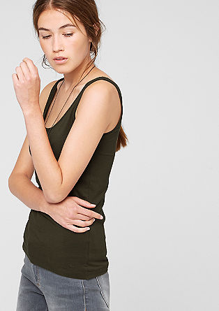 Stretch tank top from s.Oliver