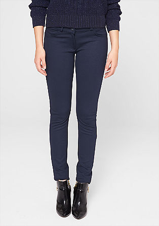 Stretch viscose cloth trousers from s.Oliver