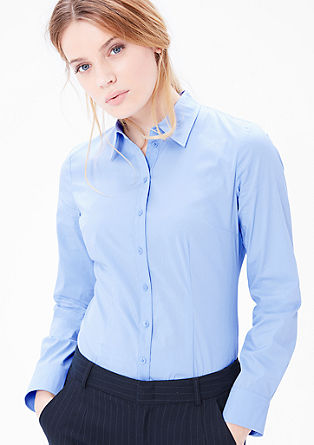 Stretchige Businessbluse