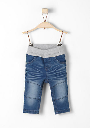 Stretchige Jeans im Used-Look