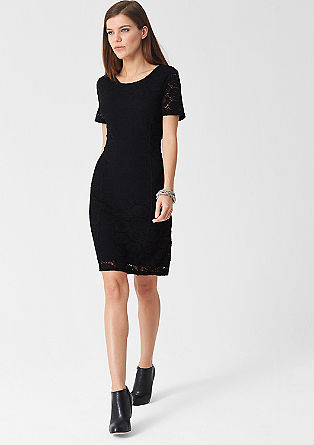 Stretchy lace dress from s.Oliver