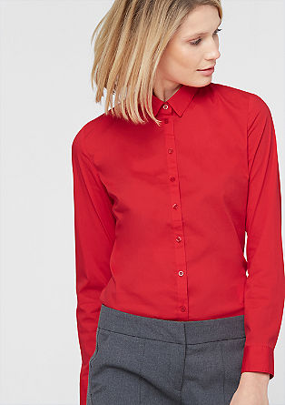 Stretchy shirt blouse from s.Oliver