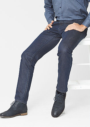 Stretto Straight: dark denim jeans from s.Oliver