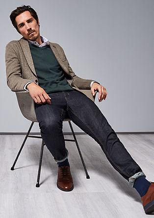 Stretto straight: Gemêleerde jeans