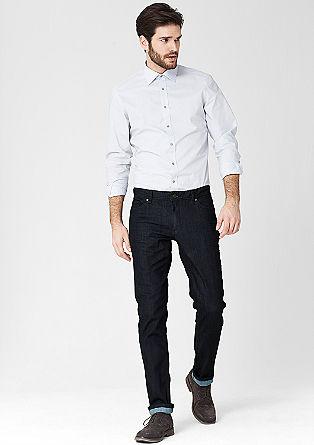 Stretto Straight:raztegljiv surov jeans
