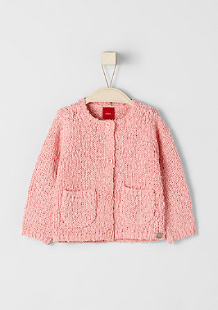 Strickjacke aus Fancy-Garn