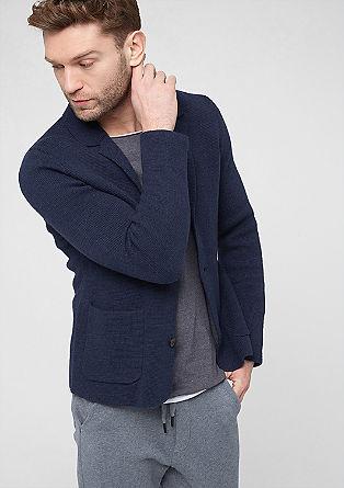 Strickjacke aus Woll-Mix