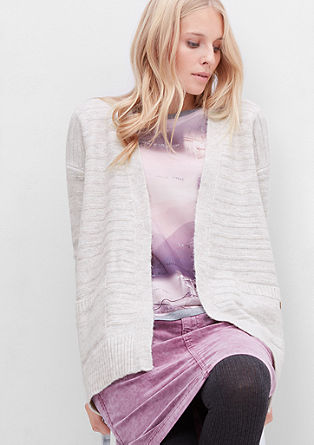 Striped cardigan from s.Oliver