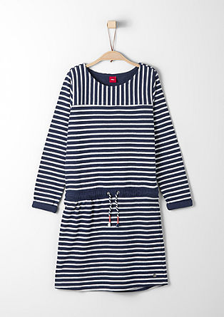 Striped knit dress from s.Oliver