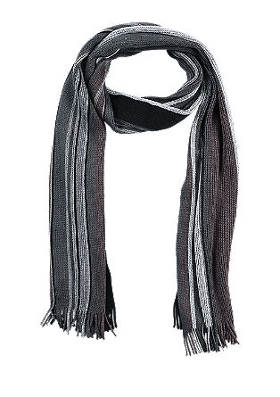 Striped knit scarf from s.Oliver