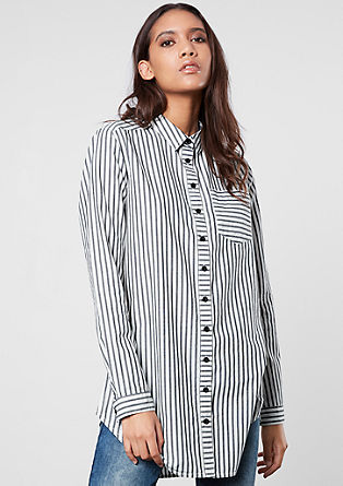 Striped long blouse from s.Oliver