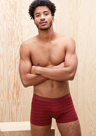 Striped microfibre boxer shorts from s.Oliver