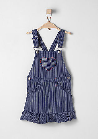 Striped pinafore  from s.Oliver
