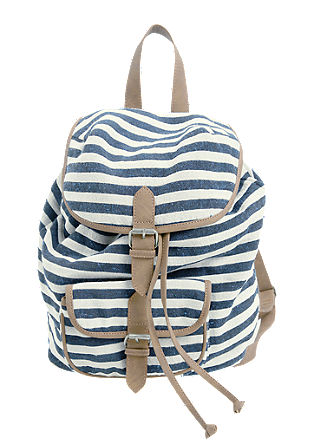 Striped rucksack from s.Oliver