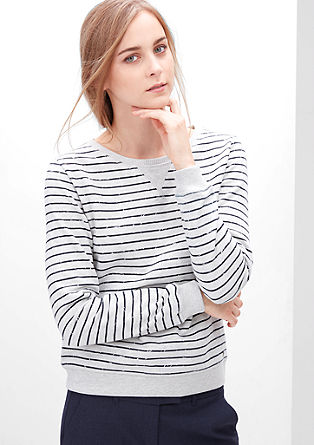 Striped sweatshirt from s.Oliver