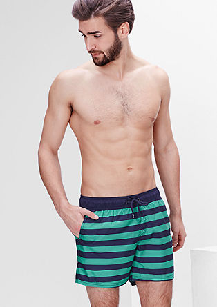 Striped swim shorts from s.Oliver