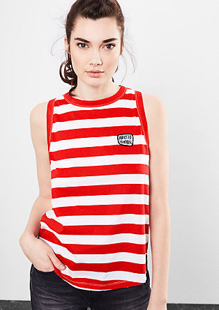 Striped top from s.Oliver