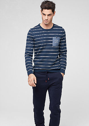 Stripy jumper from s.Oliver