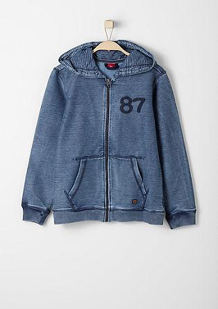 Strukturierter Garment-Dye-Sweater