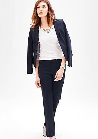 Sue slim: stretchy business-pantalon