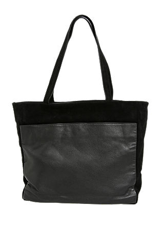 Suede shopper from s.Oliver