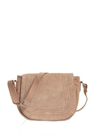 Suede shoulder bag from s.Oliver