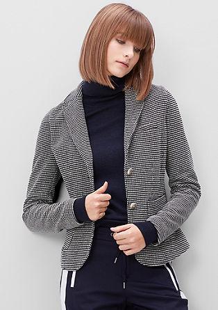 Suknjič s tkanim vzorcem