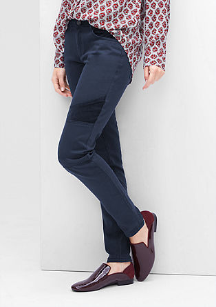Super skinny fit: coloured jeans