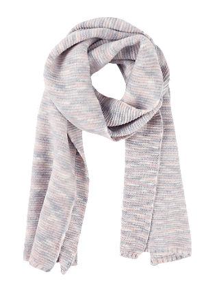 Superzachte gebreide sjaal