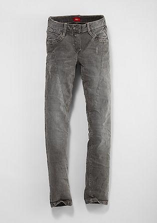 Suri: dark stretch jeans from s.Oliver