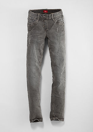 Suri: Dunkle Stretch-Jeans