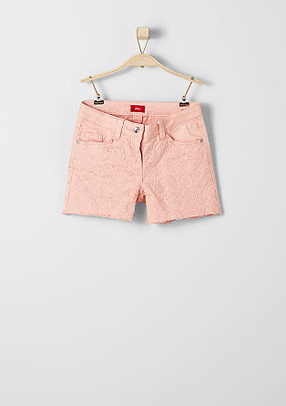 Suri: embroidered shorts from s.Oliver