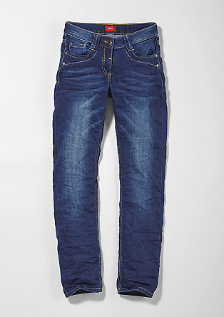 Suri: stretch blue jeans from s.Oliver