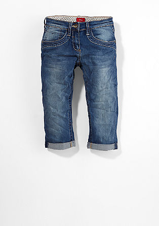 Suri: stretch Capri jeans from s.Oliver