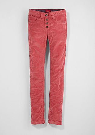 Suri: stretch corduroy trousers from s.Oliver