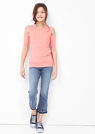 Suri: Stretch-Jeans mit Waschung