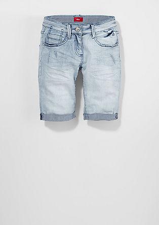 Suri: Svetle bermuda hlače iz jeansa