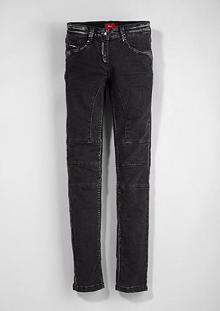 Suri slim: rock star stretch jeans from s.Oliver