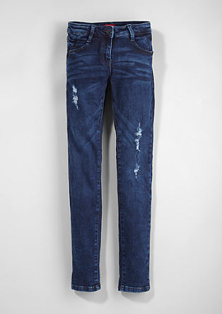 Suri slim: stretch vintage jeans from s.Oliver