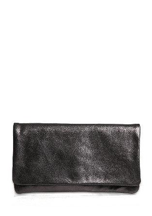 Svetleča pisemska torbica iz usnja