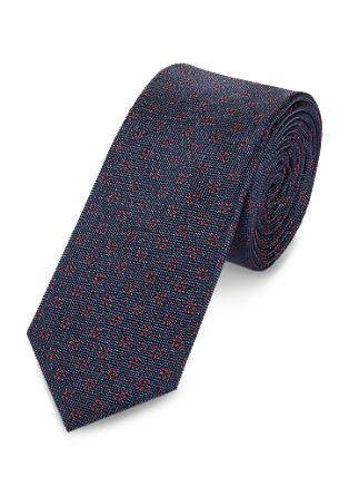 Svilena kravata v dveh barvnih odtenkih