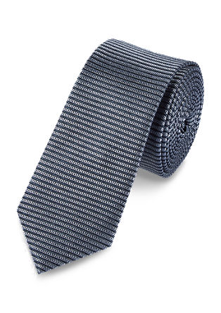 Svilnata kravata s črtastim vzorcem
