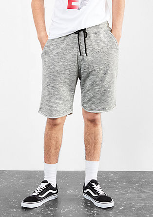 Sweat-Bermuda im Jogger-Look