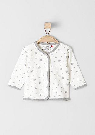 Sweat jacket with stars from s.Oliver