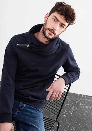 Sweater met schipperstruilook