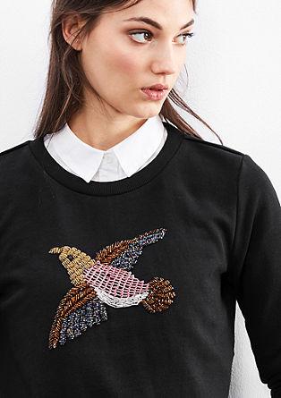 Sweater mit Schmucksteinen