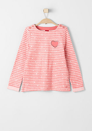 Sweater mit Sternen und Streifen
