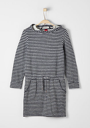 Sweatshirt dress with a hood from s.Oliver